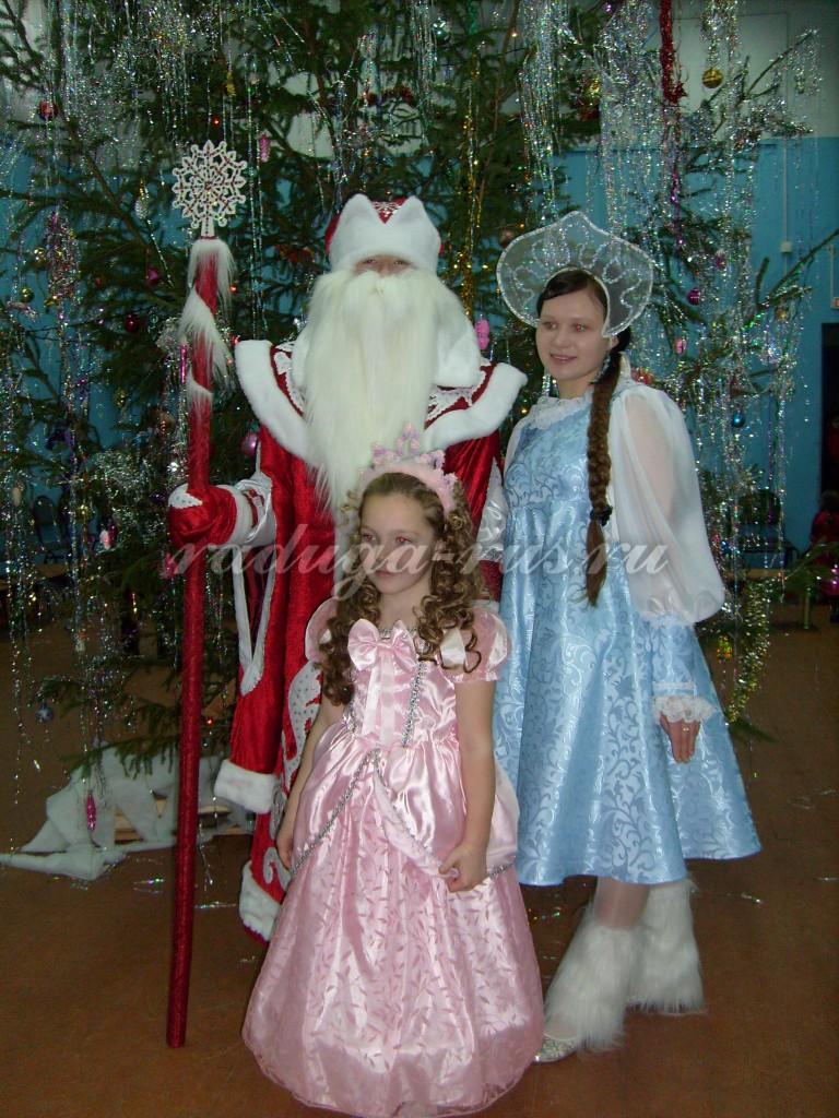 фото на память с настоящим Дедом Морозом