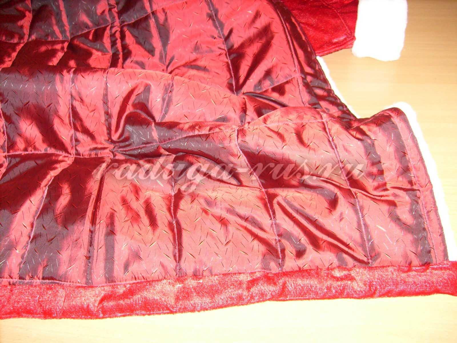 подшить потайным швом обтачку к подкладке