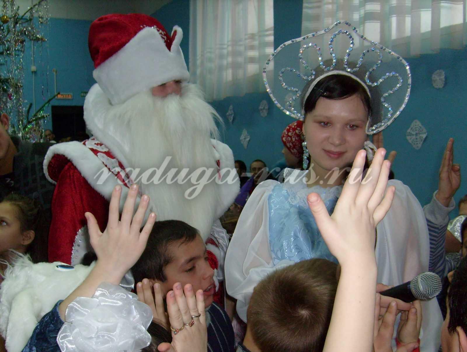 изготовленгие бороды и усов Деда Мороза