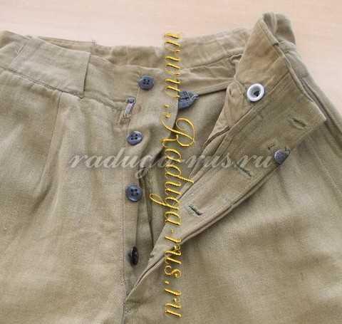 кобработка гульфика брюк галифе