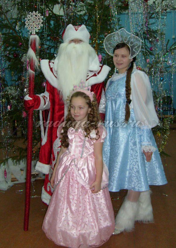 фото на память с Дедом Морозом