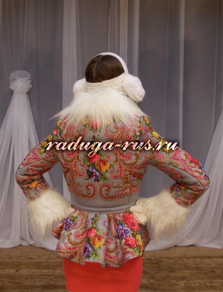 модель куртки № 2 (спинка)